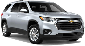 Car Hire ONTARIO  Chevrolet Traverse