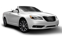 Location de voitures NAPA  Chrysler 200 Convertible
