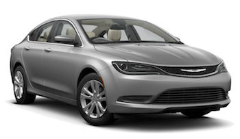 Car Hire CHICAGO  Chrysler 200
