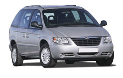 Car Hire AJAX  Chrysler Voyager