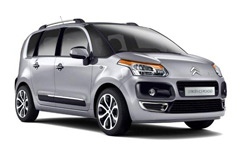 Car Hire LILLE  Citroen C3 Picasso