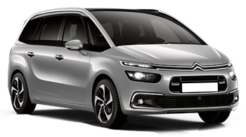 Car Hire COSTA CALMA  Citroen C4 Grand Picasso