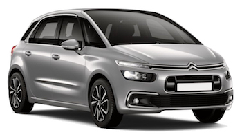 Car Hire COMO  Citroen C4 Picasso