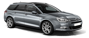 Car Hire  Citroen C5
