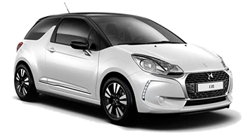 Car Hire LES HERBIERS  Citroen DS3