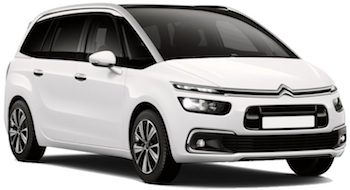 Car Hire PAPHOS  CitroenGrandC4Picasso