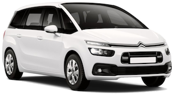 Car Hire COMO  Citroen Grand Picasso