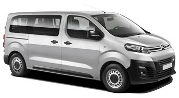 Car Hire MARSEILLE  Citroen Jumpy