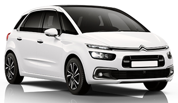 Car Hire HUMBERSIDE  Citroen Picasso