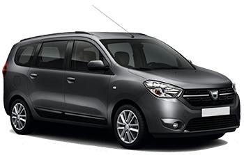 Dacia Lodgy 5 pax
