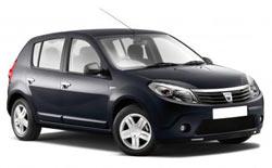 Autonoleggio TIVAT  Dacia Sandero