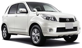 Autoverhuur QUEPOS  Daihatsu Bego