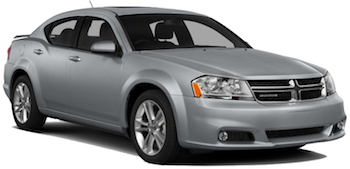 Location de voitures NAPA  Dodge Avenger