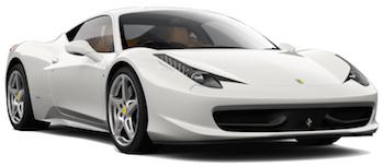 Autoverhuur CANNES  Ferrari 458 Italia Spyder