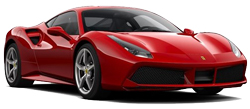 Car Hire NICE  Ferrari 488 Spider