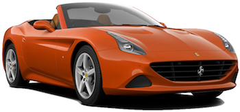 Location de voitures ROMA  Ferrari California