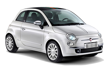 Car Hire CHATEAUBRIANT  Fiat 500 Convertible