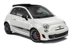 Car Hire SORRENTO  Fiat 500 Convertible