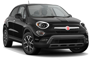 Car Hire SORRENTO  Fiat 500X