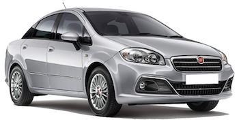 Car Hire  Fiat Linea
