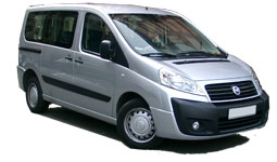 Car Hire AKTION  Fiat Scudo