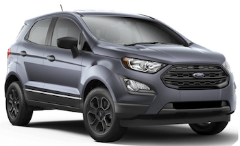 Car Hire BAURU  Ford Eco Sport