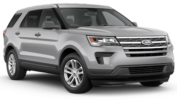 Car Hire MONT JOLI  Ford Explorer