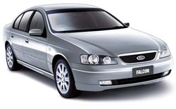 Car Hire QUEENSTOWN  Ford Falcon