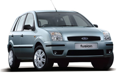 Car Hire LAGES  Ford Fusion
