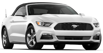 Location de voitures NAPA  Ford Mustang convertible