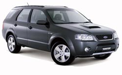 Car Hire QUEENSTOWN  Ford Territory
