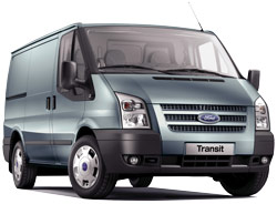 Car Hire GOSLAR  Ford Transit Cargo Van