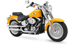 Car Hire CHICAGO  Harley Fat Boy
