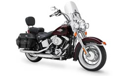 Car Hire STUART  Harley Heritage Softail