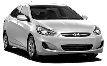 Location de voitures THE VALLEY  Hyundai Accent