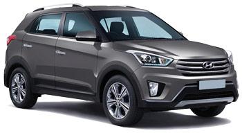 Car Hire BEL OMBRE  Hyundai Creta