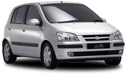 arenda avto BONAIRE  Hyundai Getz