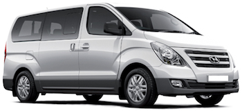 Car Hire QUEPOS  Hyundai H1