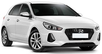 hyra bilar TEL AVIV  Hyundai I30