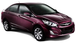 Car Hire SOCHI  Hyundai Solaris