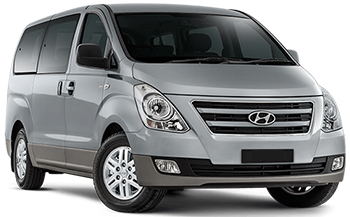 Car Hire QUEENSTOWN  Hyundai iMax