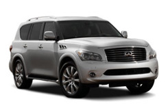 Car Hire THOUSAND OAKS  Infiniti QX56