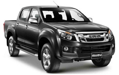 Car Hire UVITA  Isuzu DMax