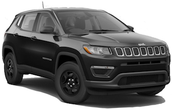 Car Hire CAP DE LA MADELEINE  JeepCompass
