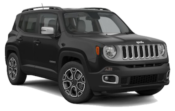 Car Hire BRUNICO  Jeep Renegade