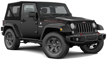 Location de voitures SAINT BARTHELEMY  Jeep Wrangler