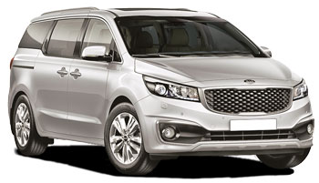 Car Hire LAUNCESTON  Kia Carnival