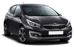 Car Hire BOURGAS  Kia Ceed
