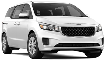 Car Hire PALM BEACH  Kia Sedona