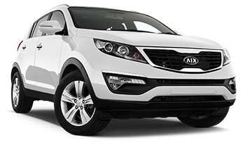 Car Hire ANTIGUA  Kia Sportage